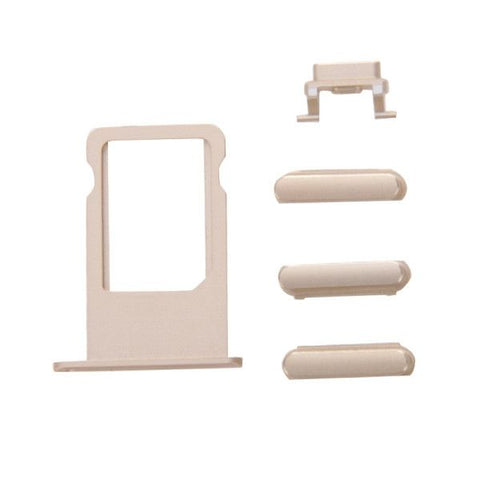 iPartsBuy Card Tray Replacement for iPhone 6s Plus(Gold)