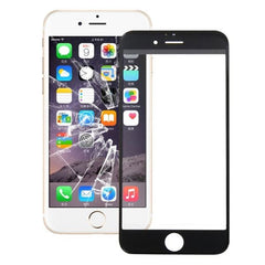 iPartsBuy Front Screen Outer Glass Lens for iPhone 6S Plus(Black)