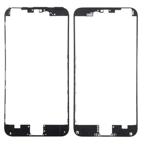 iPartsBuy Front Housing LCD Frame Replacement for iPhone 6S Plus(Black)