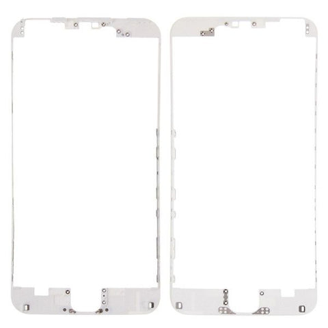 iPartsBuy Front Housing LCD Frame Replacement for iPhone 6S Plus(White)