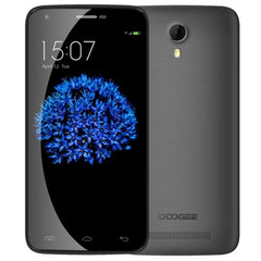 DOOGEE Valencia 2 Y100 PRO 16GB, 5.0 inch OGS Lamination Screen Android 5.0 MT6735 Quad Core 1.0GHz, RAM: 2GB,  Network: 4G, Smart Gestures, Fast Screenshot, HotKnot(Grey)