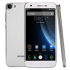 DOOGEE F3 16GB, Network: 4G, Smart Gestures, 5.0 inch Android 5.1 MT6753 Octa Core 1.3GHz, RAM: 2GB, OTG, OTA(White)