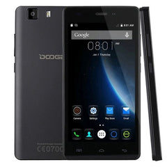 DOOGEE X5 Pro 16GB, Network: 4G, Smart Gestures, Double tap wake-up, 5.0 inch Android 5.1 MT6735 Quad Core 1.0GHz, RAM: 2GB(Black)