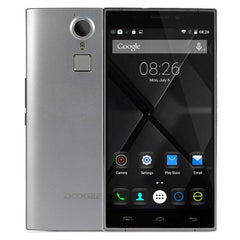 DOOGEE F5 16GB, Network: 4G, Fingerprint ID, Smart motion, 5.5 inch Android 5.1 MT6753 Octa-core 1.3GHz, RAM:3GB(Silver)