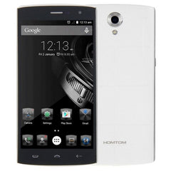 HOMTOM HT7 8GB, 5.5 inch Android 5.1 MTK6580A Quad Core 1.0GHz, RAM:1GB, Network: 3G(White)