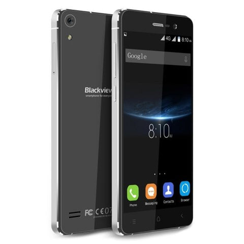 Blackview Omega Pro 16GB, Network: 4G, 5 inch Android 5.1 MTK6753 Octa Core 1.5GHz, RAM:3GB(Black)