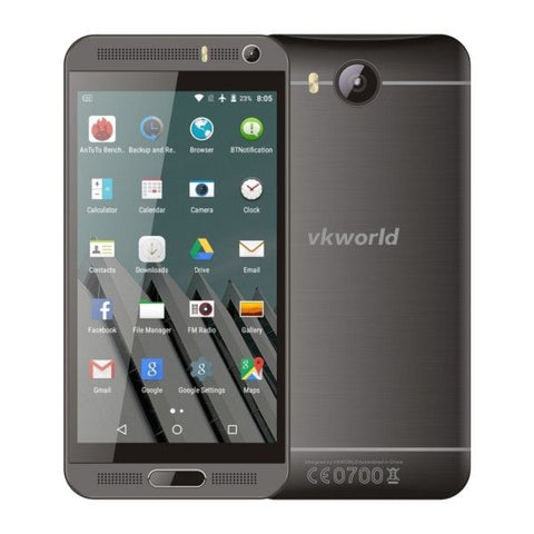 VKworld VK800X 8GB, Network: 3G, 5.0 inch Android 5.1 MTK6580 Quad Core 1.3GHz, RAM: 1GB(Black)