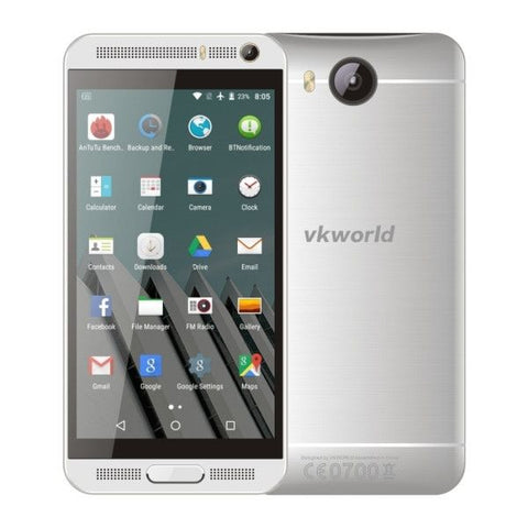 VKworld VK800X 8GB, Network: 3G, 5.0 inch Android 5.1 MTK6580 Quad Core 1.3GHz, RAM: 1GB(Silver)