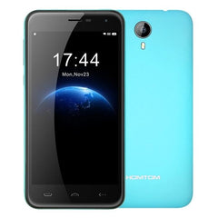 HOMTOM HT3 8GB, Network: 3G, 5 inch Android 5.1 MTK6580A Quad Core 1.3GHz, RAM: 1GB(Blue)