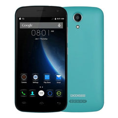 DOOGEE X3 8GB, Network: 3G, Thin and light, 4.5 inch Android 5.1 MT6580 Quad Core, RAM: 1GB(Green)
