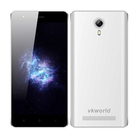 VKworld F1 Smartphone 8GB, Network: 3G, 4.5 inch Android 5.1 MTK6580-1.3GHz Quad-core, RAM: 1GB, Dual SIM, GPS, FM(White)