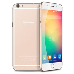 Blackview Ultra Plus Smartphone 16GB, 5.5 inch Android 5.1 MT6735p Quad Core 1.0GHZ, RAM: 2GB, Network: 4G, Dual SIM, GPS, OTG, FM(Gold)