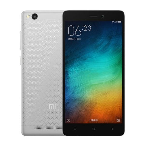 Xiaomi Redmi 3 16GB, Network: 4G, 5.0 inch Android 5.1 Qualcomm Snapdragon 616 Octa Core 4x1.5GHz + 4x1.2GHz, RAM: 2GB(Black)
