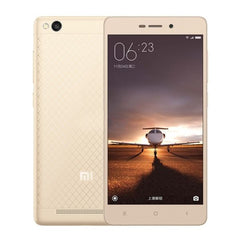 Xiaomi Redmi 3 16GB, Network: 4G, 5.0 inch Android 5.1 Qualcomm Snapdragon 616 Octa Core 4x1.5GHz + 4x1.2GHz, RAM: 2GB(Gold)
