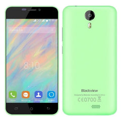 Blackview BV2000S 8GB, Network: 3G, 5 inch Android 5.1 MTK6580 Quad-core 1.0GHz, RAM:1GB(Green)