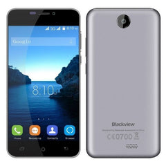 Blackview BV2000S 8GB, Network: 3G, 5 inch Android 5.1 MTK6580 Quad-core 1.0GHz, RAM:1GB(Grey)