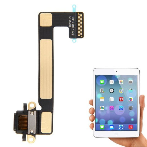 Original Dock Plug Flex Cable for iPad mini 2 Retina (Black)