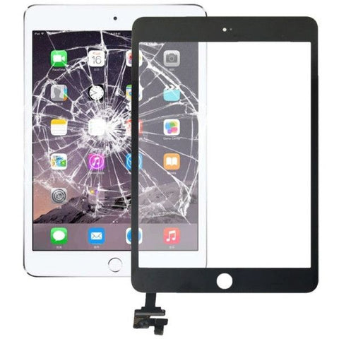 Replacement Touch Panel + IC Chip for iPad mini 3(Black)