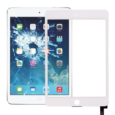 iPartsBuy Touch Screen Replacement for iPad mini 4(White)
