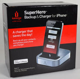 Iomega Superhero Iphone Backup & Charger