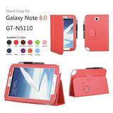 Leather Stand Cover Case For Samsung Galaxy Note 8.0 N5100 / N5110 - Zasttra.com - 4