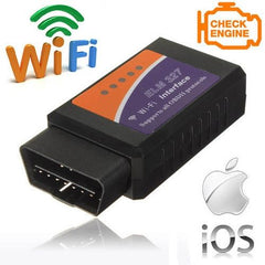 ELM327 WiFi OBD2 Car Diagnostic Wireless Adapter Scanner iPhone iPad iPod iOS
