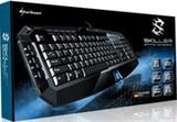 Sharkoon Skiller Black 104 Normal Keys 20 Function Keys USB Wired Gaming Keyboard
