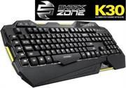 Sharkoon SHARK ZONE K30 Modern keyboard with LED illumination