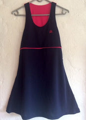 40Luv tennis dress Blue and Pink (small)