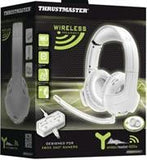 Thrustmaster Y-400Xw Wireless Stereo Gaming Headset designed for use with Xbox 360¶©- White Retail Box 1 year Limited Warranty - Zasttra.com