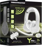 Thrustmaster Y-400Xw Wireless Stereo Gaming Headset designed for use with Xbox 360¶©- White Retail Box 1 year Limited Warranty