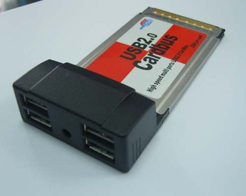 Pcmcia: 4 Port Usb Card