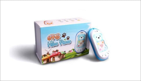 Live Web Based Kids Tracker/Mobile Phone - GK301 - (No Contract)
