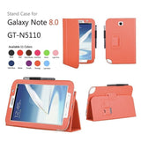 Leather Stand Cover Case For Samsung Galaxy Note 8.0 N5100 / N5110 - Zasttra.com - 8
