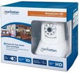 Manhattan HomeCam HD Peer-to-peer 720p home monitor with IR night vision - Zasttra.com