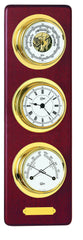 Barigo 3751MS - Barometer, Comfortmeter & Quartz Clock