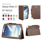 Leather Stand Cover Case For Samsung Galaxy Note 8.0 N5100 / N5110 - Zasttra.com - 2