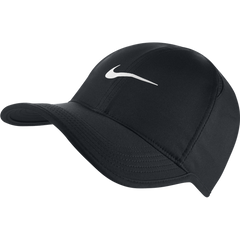 Nike Feather Light Cap Black and White