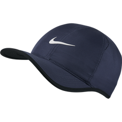 Nike Feather Light Navy and White