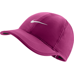 Nike Feather Light Cap Vivid Pink and White