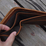 Genuine Horse Leather Vintage Wallet - Zasttra.com - 6