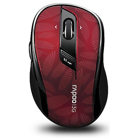 Rapoo Wireless Mouse 7100P Red 5 Ghz