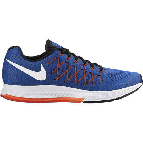 Nike Air Zoom Pegasus 32 mens running shoe royal blue white and crimson - UK-9