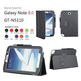 Leather Stand Cover Case For Samsung Galaxy Note 8.0 N5100 / N5110 - Zasttra.com - 1