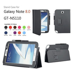 Leather Stand Cover Case For Samsung Galaxy Note 8.0 N5100 / N5110