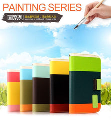 KALAIDENG Painting Series - Wallet Case For Samsung Galaxy Note 2 N7100
