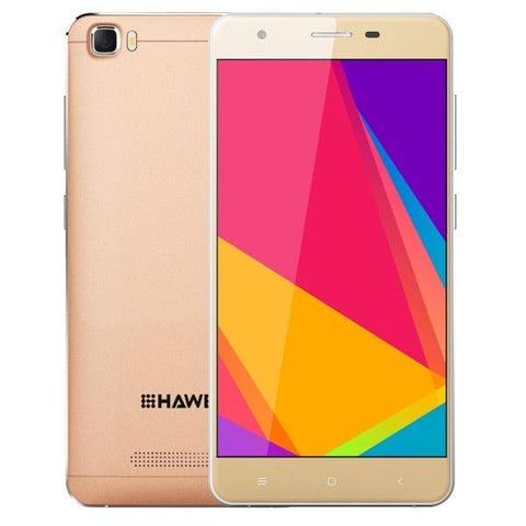 HAWEEL H1 8GB, Network: 3G, 5.0 inch Android 5.1 MTK6580 Quad Core 1.2GHz, RAM: 1GB(Gold)