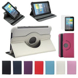 360 Degree Rotating Stand PU Leather Case For Samsung Galaxy Tab 2 P3100 / P6200 - Zasttra.com - 1