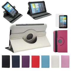 360 Degree Rotating Stand PU Leather Case For Samsung Galaxy Tab 2 P3100 / P6200