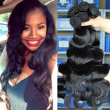 Peruvian Virgin Human Hair 8A - Body Wave - 3 Bundles